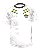 White Warm up shirt