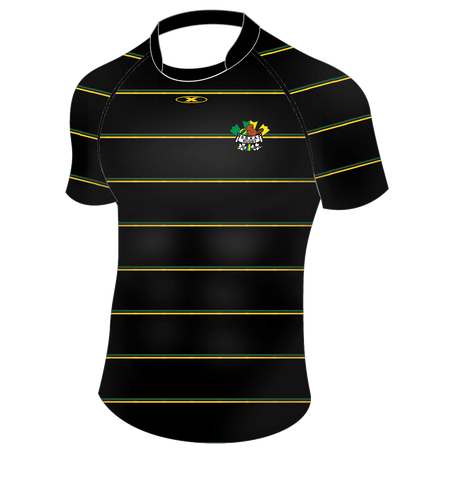 Surrey Beaver Pro Fit Rugby Jersey Black 2