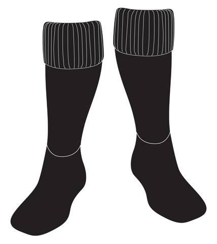 Surrey Beaver Sock-Black