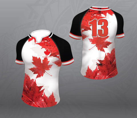 Canada Leaf White Jersey