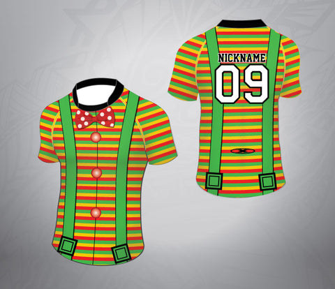 Custom Rugby Jersey-Clown Pattern