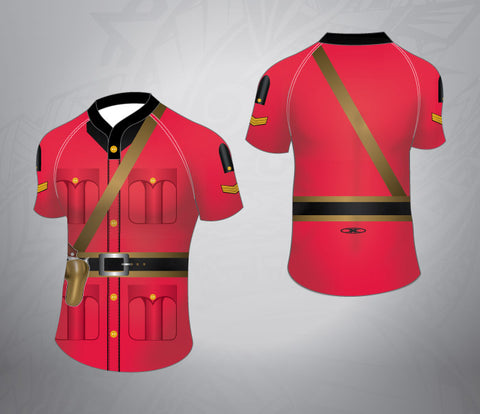 Custom Rugby Jersey-RCMP Officer Pattern