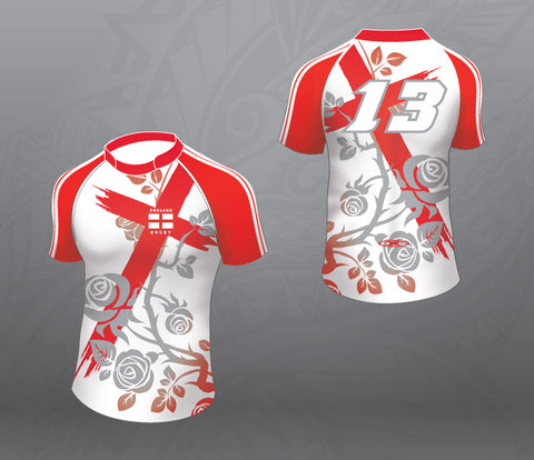 England Cross Rugby Jersey-Women