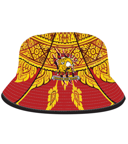Nak Suu Bucket Hat Red/Gold