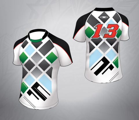 Harlequin Rugby Jersey-checkered