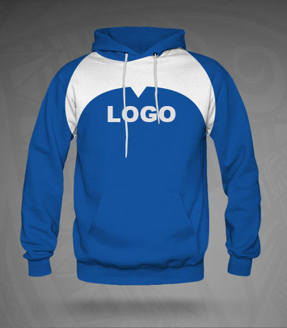 Custom Hoodie- Royal/White