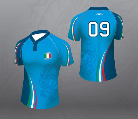 Italy Rugby Jersey-Women