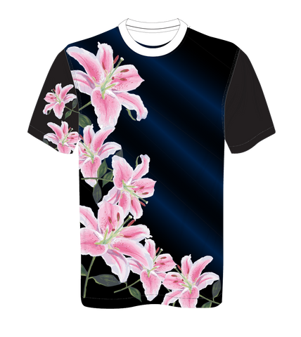 X-treme Warmup Shirt Pink Floral