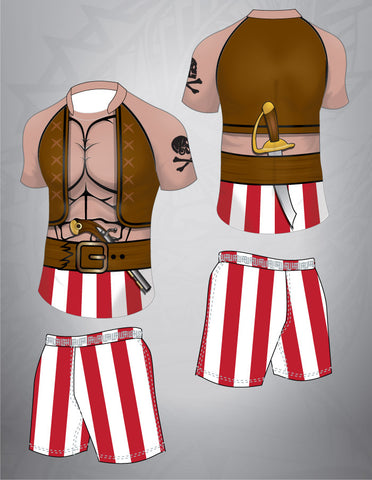 Pirate Rugby Team Kit