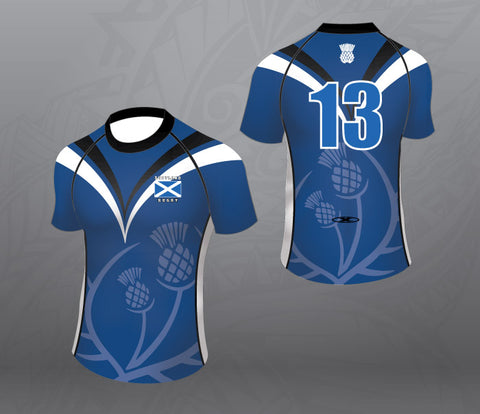 Scotland Blue/Black Jersey-Women