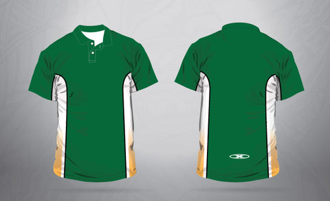 Polo-Green/White/Gold-Men