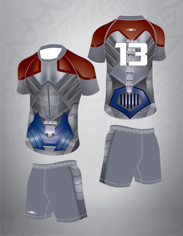 Super Hero Rugby Team Kit