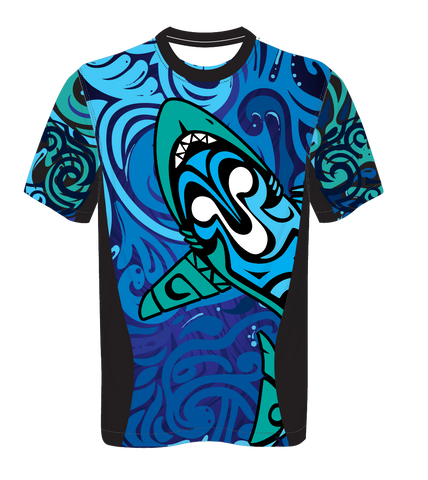 X-treme Warmup Shirt Blue Shark