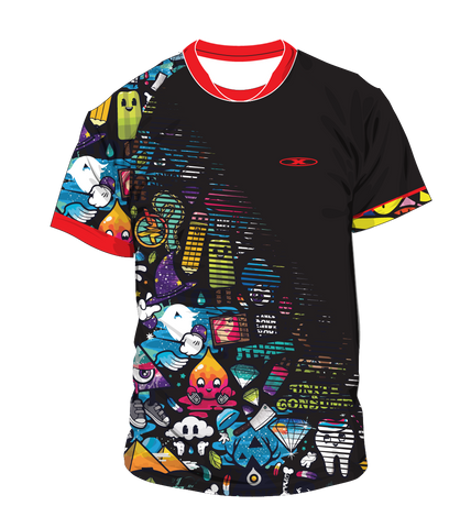 X-treme Warmup Shirt Black Candy