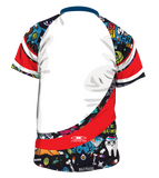 X-treme Warmup Shirt White Candy