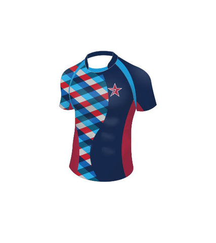 STAR's Pro Fit Rugby Jersey Navy-Women
