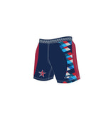 Star Navy Sublimated Rugby Short