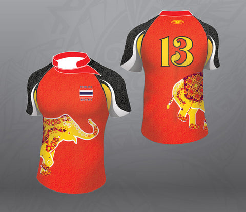 Thailand Red Elephant Jersey Women
