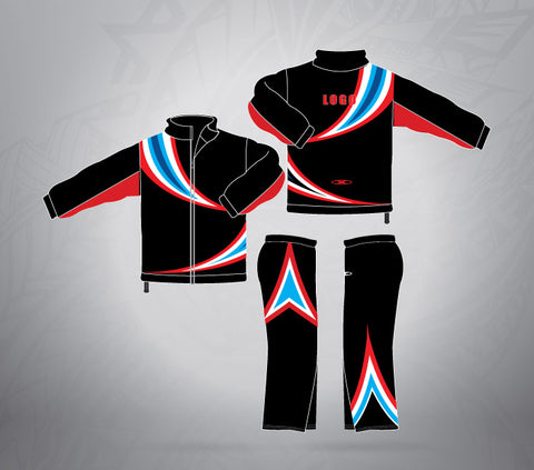 Sublimated Tracksuit Swirl
