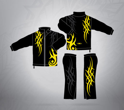 Sublimated Tracksuit Fire