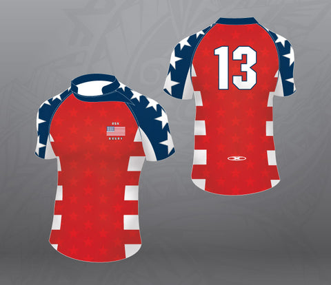 USA stars Rugby Jersey-Women