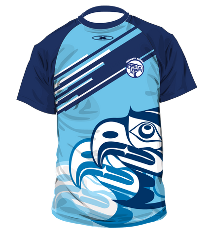 VIT Blue Warmup Shirt 2018