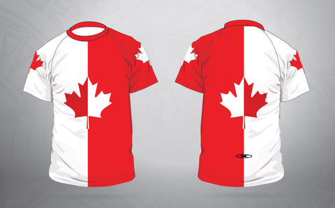 Maple Leaf Warm up shirt