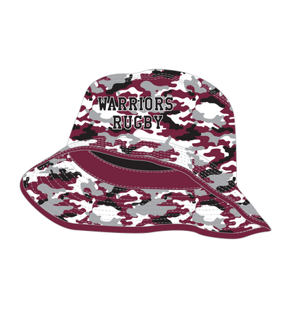 Wise Wood Warriors Camo Bucket Hat