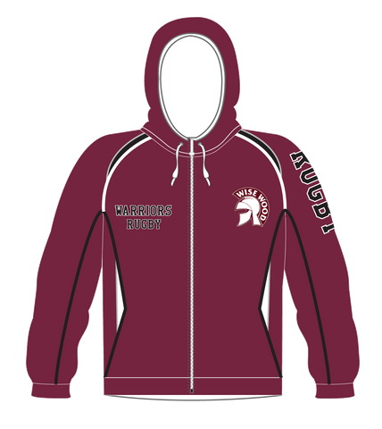 Wise Wood Warriors Maroon Hoodie
