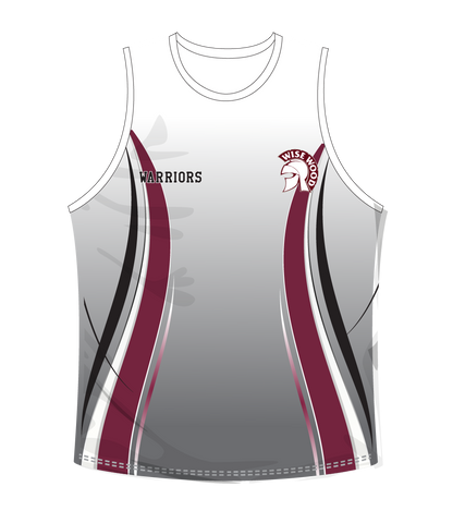 Wise Wood Warriors Mens Singlet