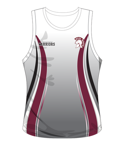 Wise Wood Warriors Womens Singlet