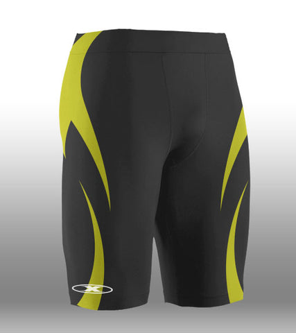 X-skin Black/Gold Short