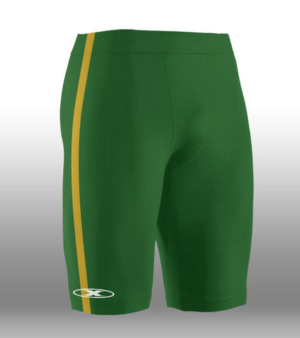 X-skin Green/Gold Short