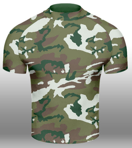 X-skin Army S/S compression