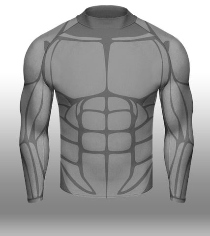 X-skin 6 Pack L/S compression