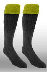 Rugby Sock- Black/Gold