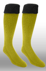 Rugby Sock- Gold/Black