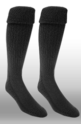 Rugby Sock- Black