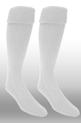 Rugby Sock- White