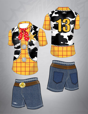 Cowboy Rugby Team Kit