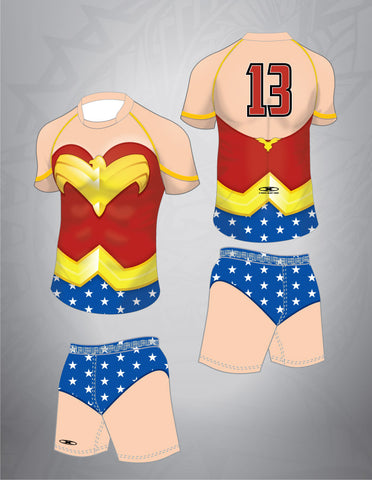 Women Hero Rugby Kit-Men