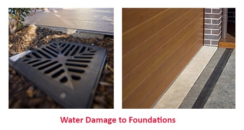 Water Damage to Foundations