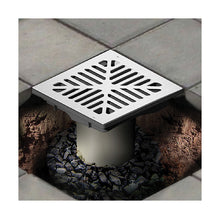 Vortex 9inch x 9inch Catch Basin with Aluminum Grate