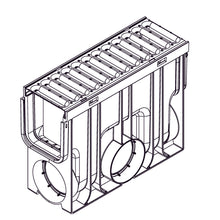 Rain Drain Inline Catch Basin Stainless Steel - Specifications Drawing