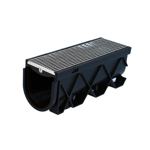 "Storm Drain 40"" Architectural 316 Stainless Steel Grate"