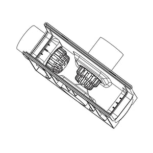 Rain Drain Leaf Guard Technical Drawing
