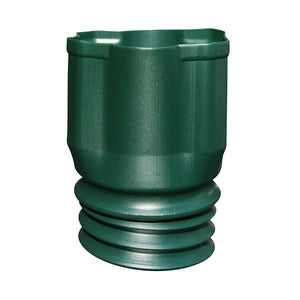 "3"" x 4"" Green Downspout Adapter"