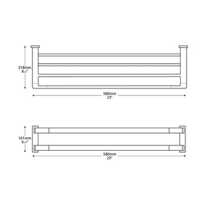 Brooklyn 24inch Double Towel Rack Specifications