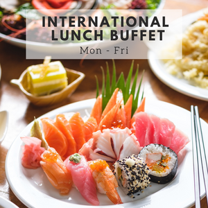 International Lunch Buffet (Mon - Fri)