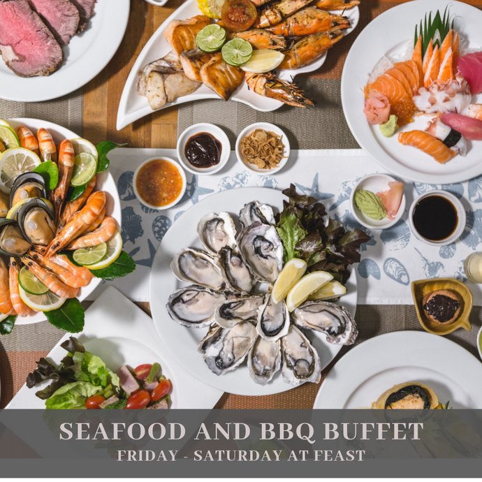 Seafood & BBQ Dinner Buffet (Fri - Sat)